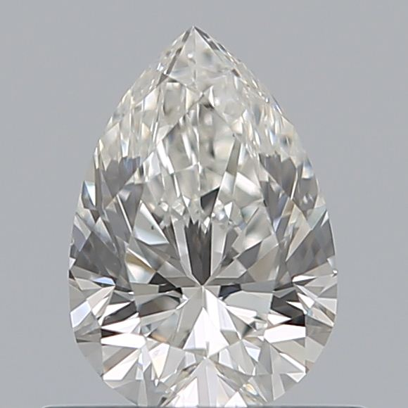 0.50 Carat Pear Loose Diamond, G, SI1, Ideal, GIA Certified