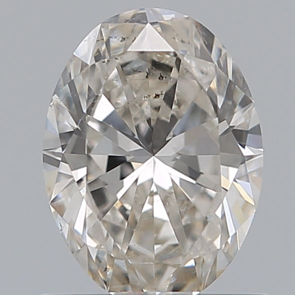 0.72 Carat Oval Loose Diamond, H, SI1, Ideal, GIA Certified