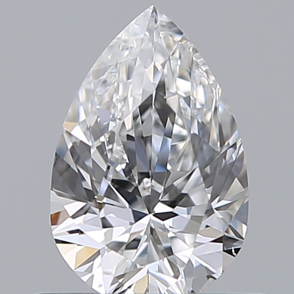 0.50 Carat Pear Loose Diamond, E, SI1, Excellent, GIA Certified