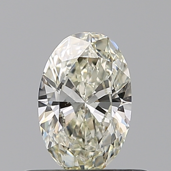 0.40 Carat Oval Loose Diamond, L, SI1, Excellent, GIA Certified