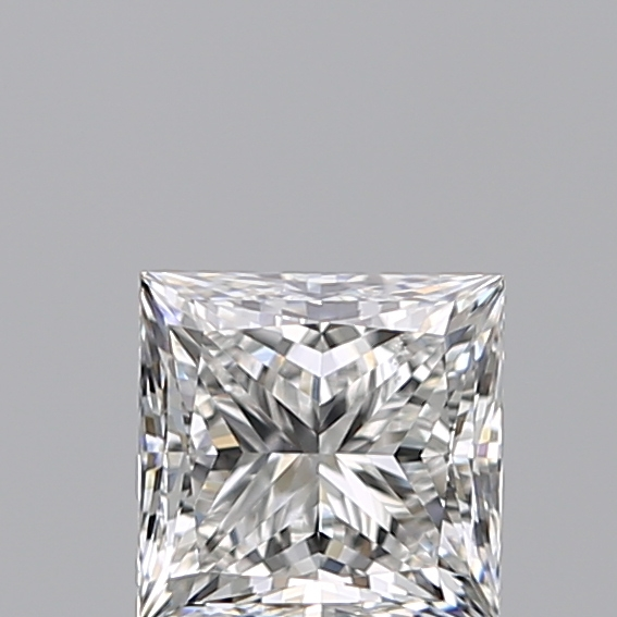 1.00 Carat Princess Loose Diamond, E, VS2, Super Ideal, GIA Certified