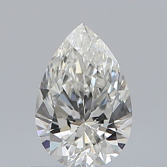0.59 Carat Pear Loose Diamond, I, VVS2, Super Ideal, GIA Certified