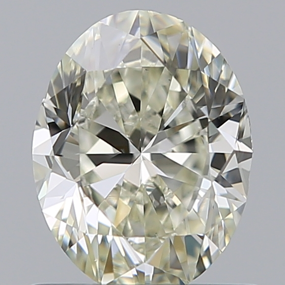 0.75 Carat Oval Loose Diamond, L, VS1, Excellent, GIA Certified