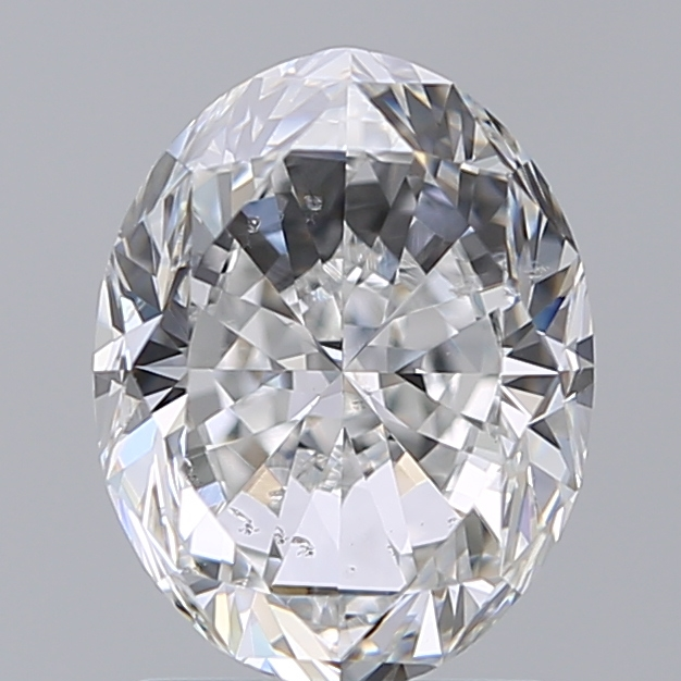 1.70 Carat Oval Loose Diamond, E, SI2, Excellent, GIA Certified