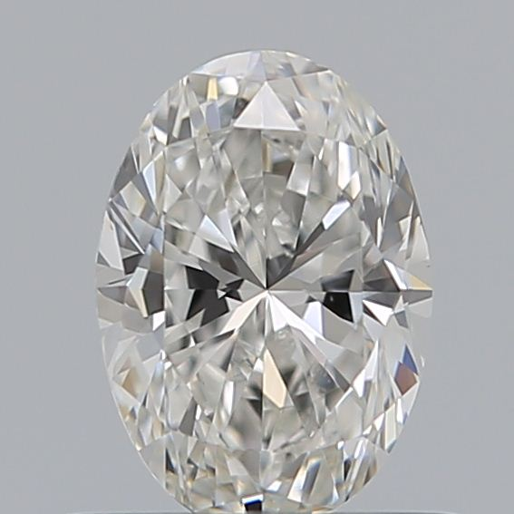 0.50 Carat Oval Loose Diamond, F, VVS2, Excellent, GIA Certified