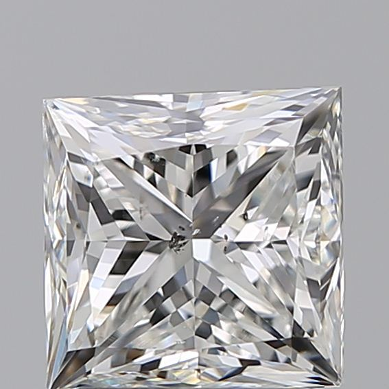 1.70 Carat Princess Loose Diamond, H, SI2, Very Good, GIA Certified