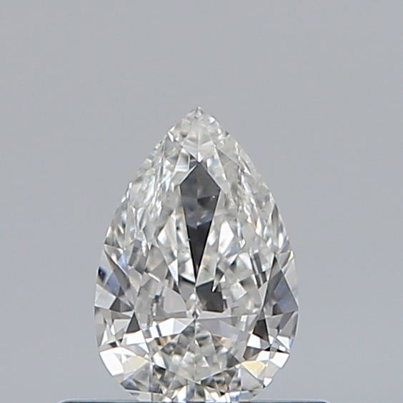 0.33 Carat Pear Loose Diamond, G, VS1, Excellent, GIA Certified | Thumbnail