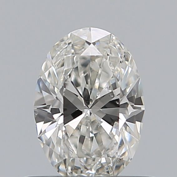 0.44 Carat Oval Loose Diamond, G, SI1, Excellent, GIA Certified