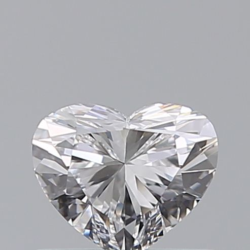0.46 Carat Heart Loose Diamond, D, VS1, Ideal, GIA Certified