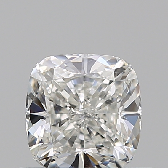 0.50 Carat Cushion Loose Diamond, H, SI1, Super Ideal, GIA Certified
