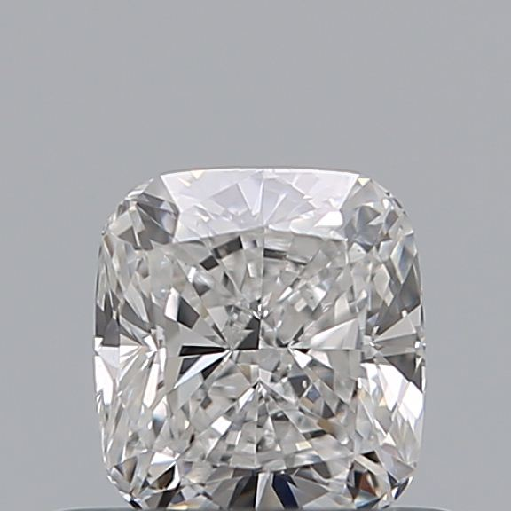 0.50 Carat Cushion Loose Diamond, E, VS2, Ideal, GIA Certified