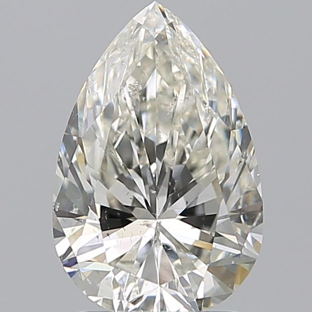 1.60 Carat Pear Loose Diamond, J, SI1, Super Ideal, GIA Certified