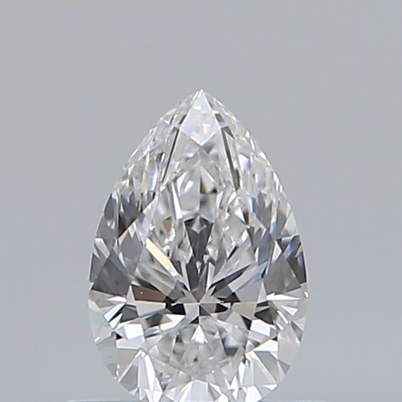 0.50 Carat Pear Loose Diamond, D, VS1, Super Ideal, GIA Certified