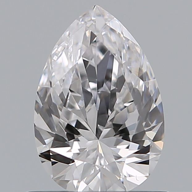 0.65 Carat Pear Loose Diamond, D, VS2, Super Ideal, GIA Certified | Thumbnail