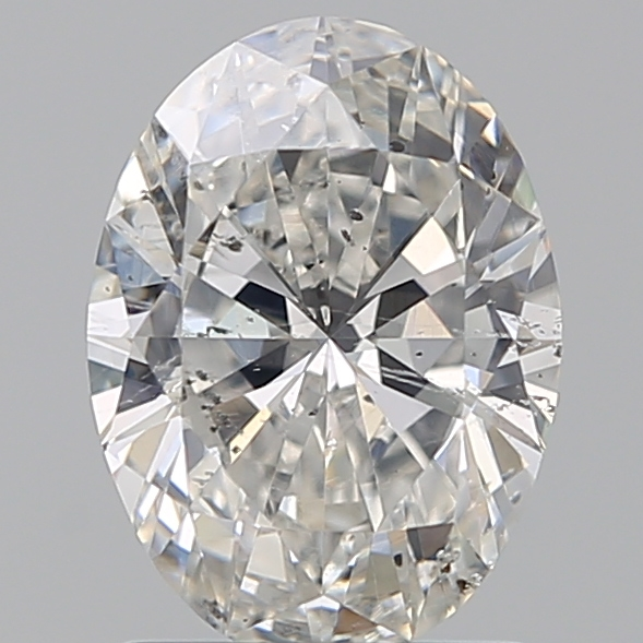1.22 Carat Oval Loose Diamond, G, SI2, Super Ideal, GIA Certified