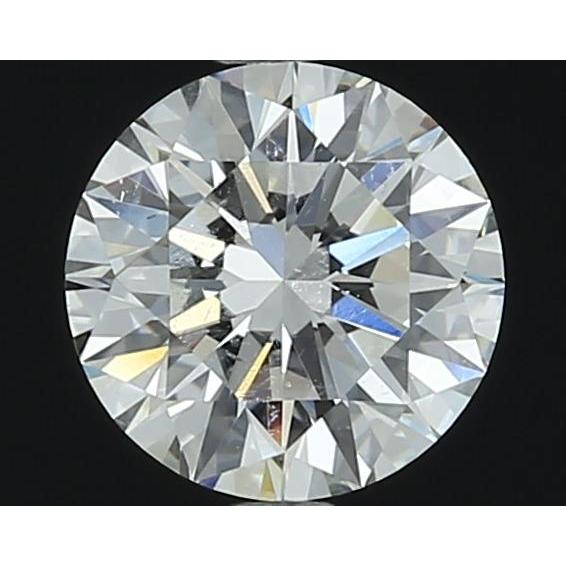 1.10 Carat Round Loose Diamond, G, SI1, Super Ideal, GIA Certified