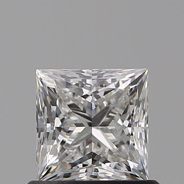0.70 Carat Princess Loose Diamond, F, VS2, Ideal, GIA Certified