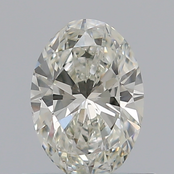 0.46 Carat Oval Loose Diamond, I, SI1, Ideal, GIA Certified | Thumbnail