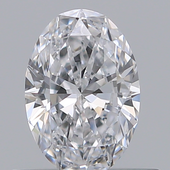 0.40 Carat Oval Loose Diamond, D, VVS1, Ideal, GIA Certified