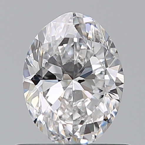 0.56 Carat Oval Loose Diamond, D, VS2, Ideal, GIA Certified | Thumbnail