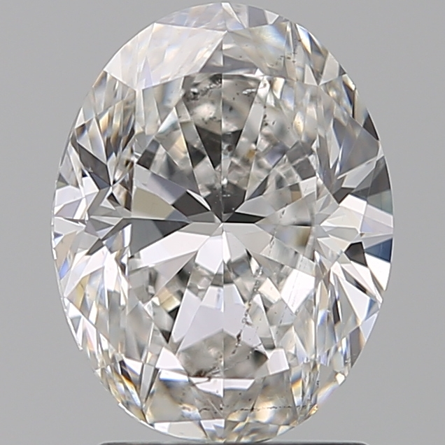 2.00 Carat Oval Loose Diamond, F, SI2, Excellent, GIA Certified