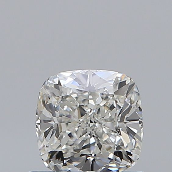 0.70 Carat Cushion Loose Diamond, H, VS2, Ideal, GIA Certified