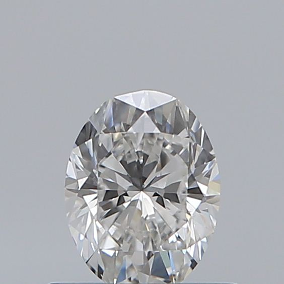 0.50 Carat Oval Loose Diamond, F, VS2, Excellent, GIA Certified