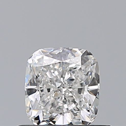 0.53 Carat Cushion Loose Diamond, F, VS2, Ideal, GIA Certified | Thumbnail