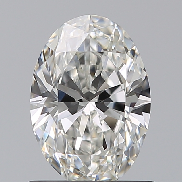 0.78 Carat Oval Loose Diamond, G, VVS1, Super Ideal, GIA Certified