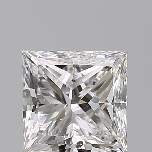 0.90 Carat Princess Loose Diamond, G, SI2, Excellent, GIA Certified