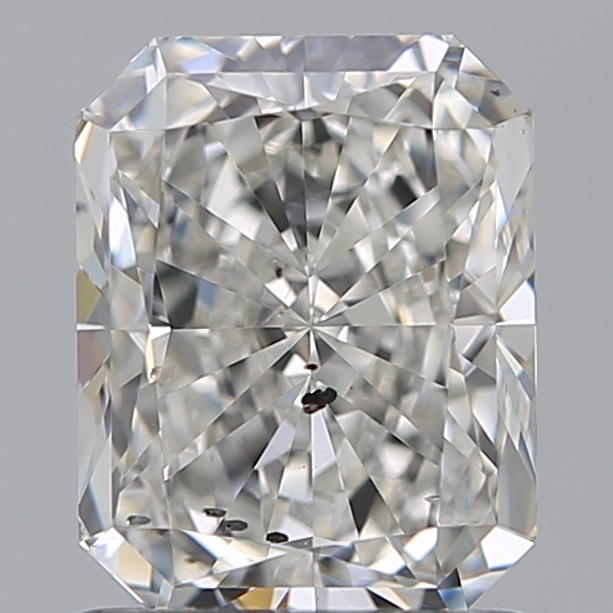 1.22 Carat Radiant Loose Diamond, I, SI2, Super Ideal, GIA Certified