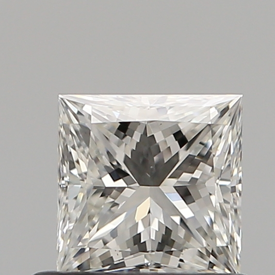 0.60 Carat Princess Loose Diamond, H, VS1, Ideal, GIA Certified