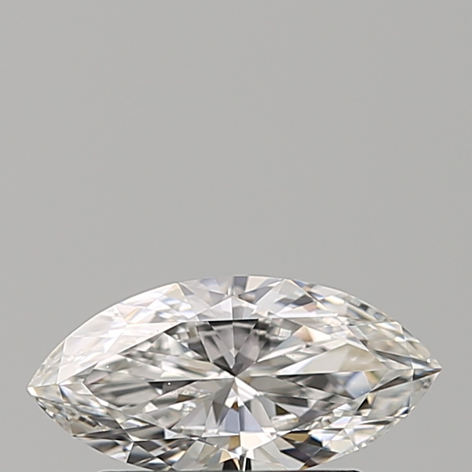 0.50 Carat Marquise Loose Diamond, F, IF, Ideal, GIA Certified