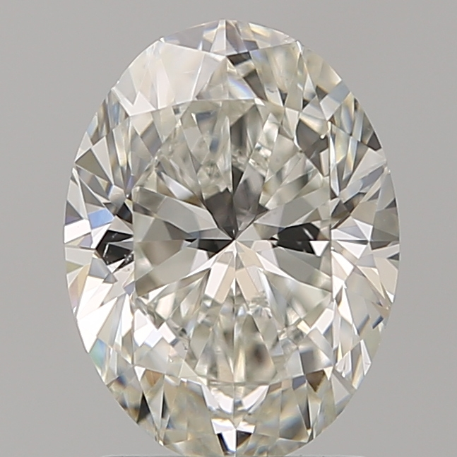 1.70 Carat Oval Loose Diamond, H, VS2, Super Ideal, GIA Certified
