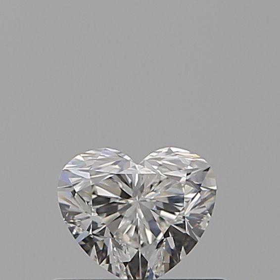 0.40 Carat Heart Loose Diamond, H, VVS1, Super Ideal, GIA Certified