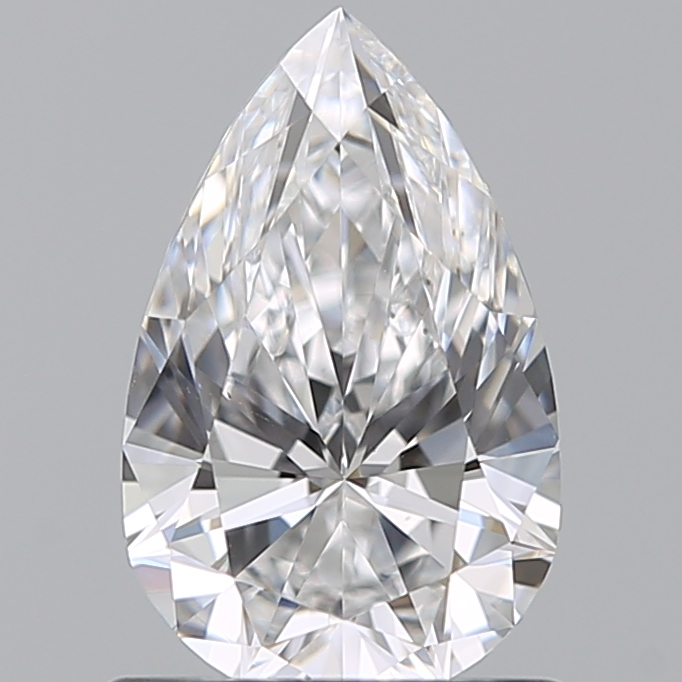0.79 Carat Pear Loose Diamond, D, VS1, Super Ideal, GIA Certified | Thumbnail