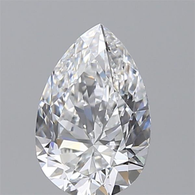 1.51 Carat Pear Loose Diamond, D, VVS1, Super Ideal, GIA Certified