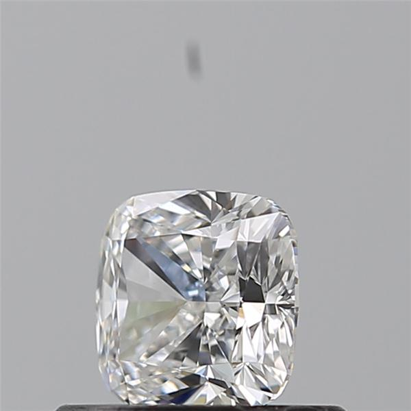 0.53 Carat Cushion Loose Diamond, E, VVS1, Ideal, GIA Certified