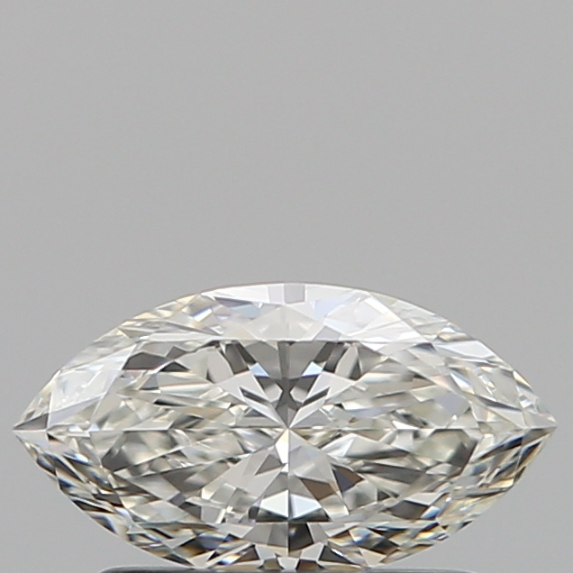 0.50 Carat Marquise Loose Diamond, H, VVS1, Super Ideal, GIA Certified