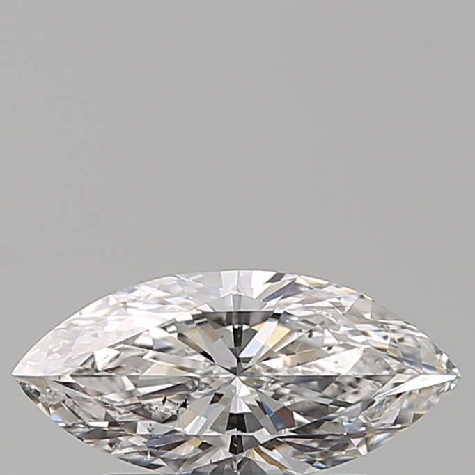 0.59 Carat Marquise Loose Diamond, D, SI2, Super Ideal, GIA Certified