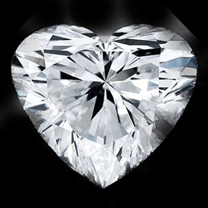 0.50 Carat Heart Loose Diamond, G, I2, Excellent, GIA Certified