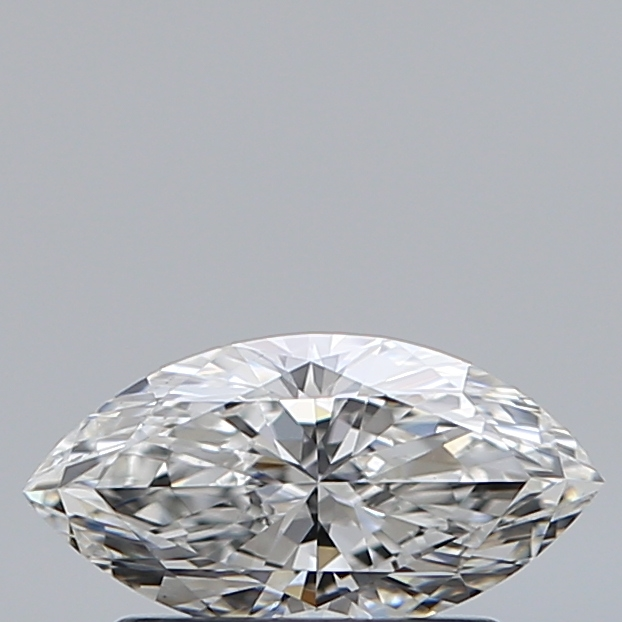 0.57 Carat Marquise Loose Diamond, F, VS1, Ideal, GIA Certified