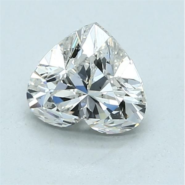 1.00 Carat Heart Loose Diamond, H, SI1, Super Ideal, GIA Certified
