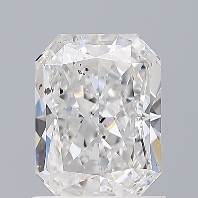 1.00 Carat Radiant Loose Diamond, D, SI2, Excellent, GIA Certified