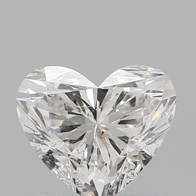 1.00 Carat Heart Loose Diamond, G, SI2, Super Ideal, GIA Certified | Thumbnail