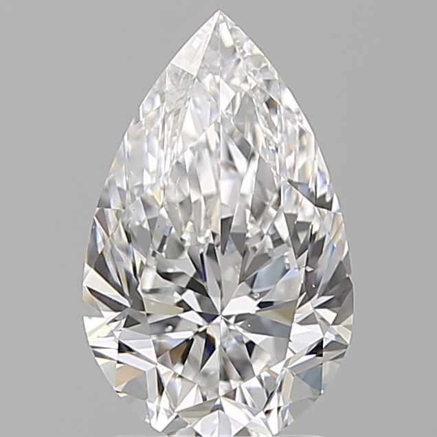 2.00 Carat Pear Loose Diamond, D, VS2, Super Ideal, GIA Certified