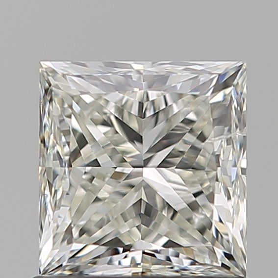 1.02 Carat Princess Loose Diamond, J, SI2, Very Good, GIA Certified