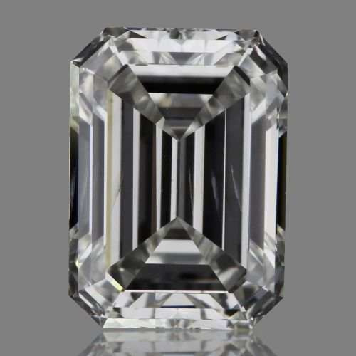 0.50 Carat Emerald Loose Diamond, H, SI2, Super Ideal, GIA Certified