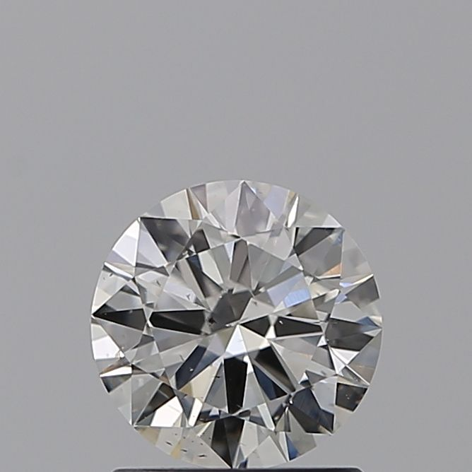 0.90 Carat Round Loose Diamond, I, SI1, Excellent, GIA Certified