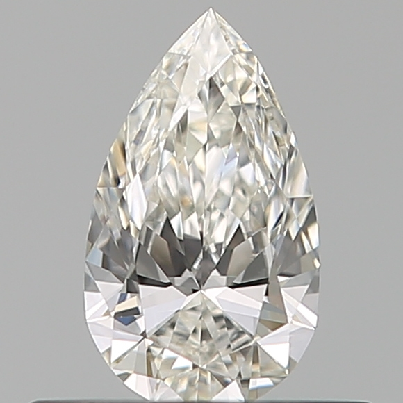 0.30 Carat Pear Loose Diamond, H, VS2, Ideal, GIA Certified